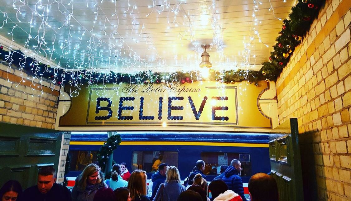 I BELIEVE! – A magical trip on The Train To Christmas Town